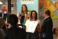 Verleihung Landestierschutzpreis 2018